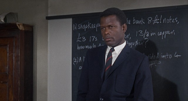 "Secondary school teacher Mark Thackeray (Sidney Poitier) has his work cut out for him in ""To Sir, with Love."""