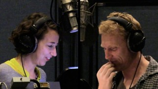 """Reptillus!!"" shows us that Kristen Schaal (Trixie) and Kevin McKidd (Reptillus) recorded some scenes together."