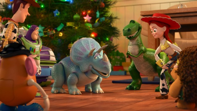 "Despite the timing, Christmas barely features in ""Toy Story That Time Forgot"", though that's still more than Halloween got in ""Toy Story of Terror!"""