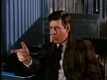 "Clarence Beeks (Paul Gleason) shoots along with ""Sunset Blvd"" in this deleted scene."