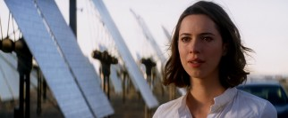 Through the magic of technology, Evelyn Caster (Rebecca Hall) reconnects with her deceased husband.