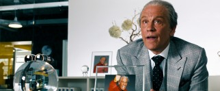 John Malkovich joins the cast as Sam's eccentric prospective employer Bruce Brazos.