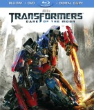 Transformers: Dark of the Moon (Blu-ray + DVD + Digital Copy) combo pack cover art - click to buy from Amazon.com
