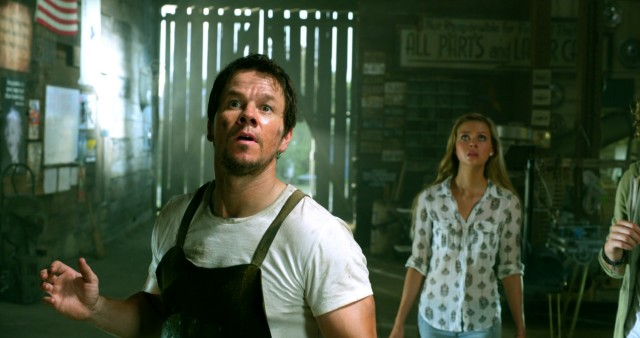 Mark Wahlberg takes over Transformers' leading man duties as Cade Yeager, a struggling rural Texas inventor with a teenage daughted (Nikola Peltz).