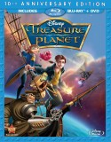 Treasure Planet Blu-ray + DVD combo pack cover art -- click to buy from Amazon.com