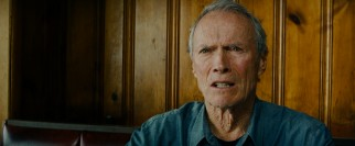 Gus Lobel (Clint Eastwood) does not take kindly to his daughter opening old wounds over a diner lunch.