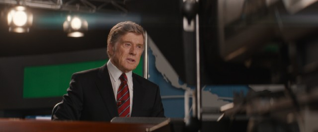 "Not a single effort is taken to make Robert Redford look like Dan Rather, the familiar longtime news anchor he portrays in ""Truth."""