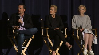 James Vanderbilt, Elisabeth Moss, and Cate Blanchett answer questions in this Q & A.