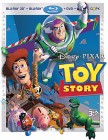 Toy Story Blu-ray 3D + Blu-ray + DVD + Digital Copy combo pack cover art