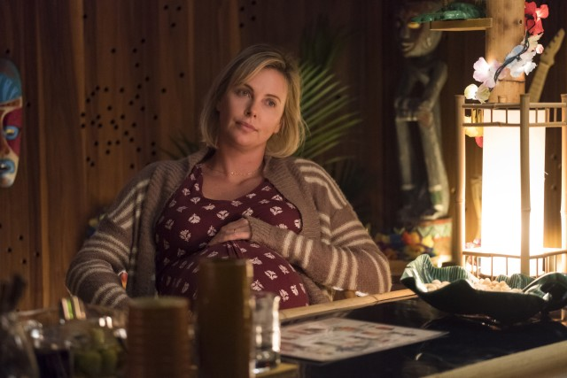 "Charlize Theron gives the best performance of the year so far as Marlo, the stressed protagonist of ""Tully."""