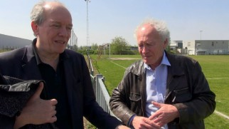 Writers-directors Jean-Pierre and Luc Dardenne revisit a football field and other Belgian locations at which they shot the film.
