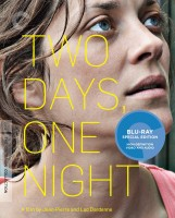 Two Days, One Night: The Criterion Collection Blu-ray Disc cover art -- click to buy from Amazon.com