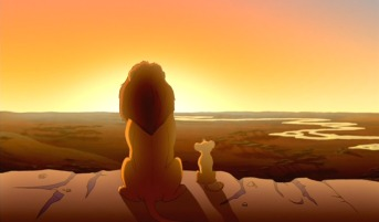 Everything the light touches is our kingdom, lion king Mufasa explains to his young son Simba.