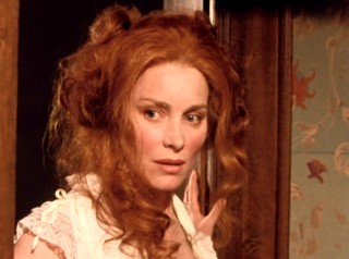 """Lady"" Henrietta Flusky (Lisa Harrow) makes quite the entrance in the 1980s miniseries ""Under Capricorn."""