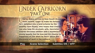 Renowned for their synopses, Acorn Media describes each installment right on the discs' main menus.