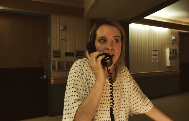 "Steven Soderbergh's psychological thriller ""Unsane"" stars Claire Foy as Sawyer Valentini, a woman involuntarily admitted to a mental institution."