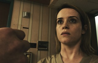 Sawyer (Claire Foy) is surprised to find her pills distributed by a former ex/stalker.