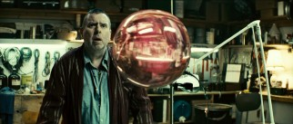 Recently laid-off longtime Transworld worker Bob Boruchowicz (Timothy Spall) likes what he sees in this gravity-defying orb.