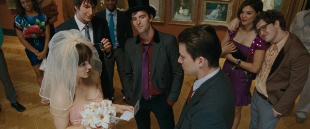 'Tis a hipster wedding for Paige (Rachel McAdams) and Leo (Channing Tatum) conducted informally at a museum.