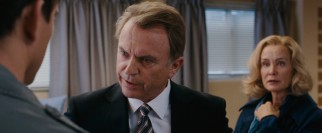 Fully recovered from his faux electrocution, Sam Neill dials up the condescension as Paige's no longer estranged father.