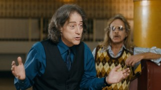 Richard Lewis plays Goody's 1960s activist boyfriend, who in the present day offers his services as an ACLU lawyer.