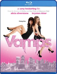 Vamps (2012) Blu-ray Disc cover art -- click to buy from Amazon.com