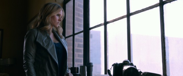 "Veronica Mars (Kristen Bell) returns to Neptune and her old sleuthing ways in ""Veronica Mars."""