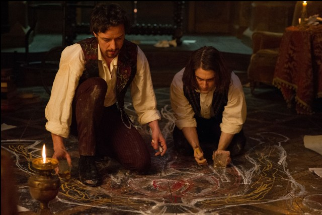 "James McAvoy and Daniel Radcliffe are the hunky new Dr. Frankenstein and Igor in ""Victor Frankenstein."""