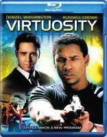 Virtuosity Blu-ray Disc cover art -- click to buy from Amazon.com