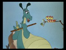 """The Reluctant Dragon"" sequence"