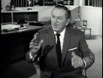 "Walt in ""The Magic Kingdom and The Magic of Television"""