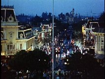 "Main Street in ""Disneyland After Dark"""