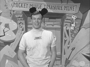 Head Mouseketeer Jimmie Dodd delivers his signature closing message.