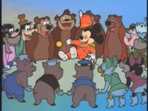 "The ""Mickey Mouse Club"" opening animated sequence in color."