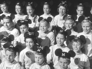 The Mouseketeers are 'all ears.'