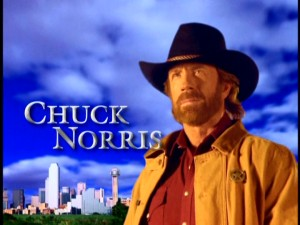 Chuck Norris IS Walker, Texas Ranger. Make no mistake about it.