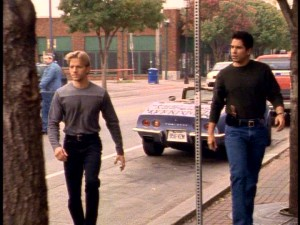 "Hip, young peacekeepers Trent Malloy (James Wlcek) and Carlos Sandoval (Marco Sanchez) finally got their proposed spin-off ""Sons of Thunder"" in the spring of 1999."