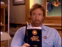 "Chuck Norris does some light seasonal reading in ""The Children of Halloween."""