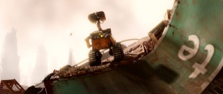 WALL-E is a lonesome 29th century robot living and working among the trashy wasteland that Planet Earth has become.