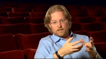 Director Andrew Stanton strikes a serious presence in his deleted scenes reflections and audio commentary.