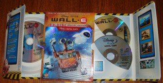 "The ""Earth (and Space) Friendly Eco-Packaging"" of WALL-E is like no other DVD in your collection."