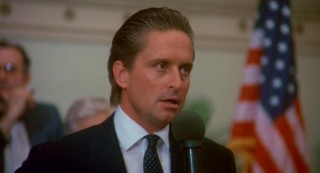 """Greed, for lack of a better word, is good"" utters Gordon Gekko (Michael Douglas) in his famous shareholders speech."