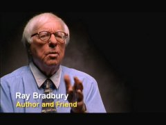 Fahrenheit 451 author Ray Bradbury is among those interviewed in the Actors, Directors & Friends category.