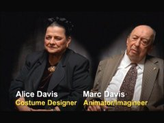A married couple of Disney Legends, Alice Davis and Marc Davis, speak at greater length in the bonus features.