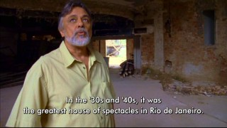 Brazilian music historian Roberto Gnattali returns to the ruins of Rio de Janeiro's Urca Casino to recall its significance in one of three deleted scenes.