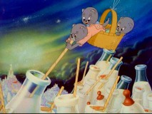 "Three kittens fly to ""The Milky Way"" in the cute MGM cartoon that became the first non-Disney Best Short Oscar Winner."