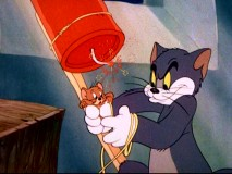 "Tom and Jerry began a streak of four consecutive Oscar wins playing with dynamite in ""The Yankee Doodle Mouse."""