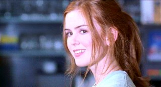 This is all that Anderson sees of Katie (Isla Fisher) before deciding to propose to her.