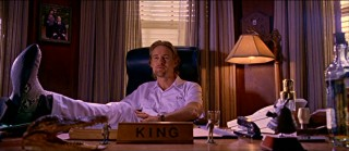 The villain of the piece, this King (Owen Wilson) sits at his retirement hotel throne scheming of ways to cheat the elderly.