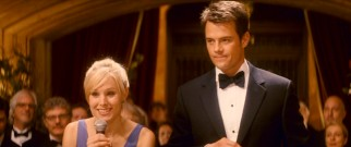 Beth (Kristen Bell) and Nick (Josh Duhamel) first meet in Rome, where she is maid of honor and he is the best man poorly translating her speech for the largely Italian audience.